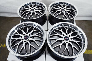 17 Wheels Acura Cl Integra Legend Tc Tl Honda Accord Civic Corolla Black Rims