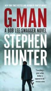 G Man Bob Lee Swagger Paperback By Hunter Stephen GOOD $4.24