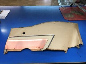 1958 Chevrolet Impala 2 Door Hardtop Right Rear Interior Quarter Trim