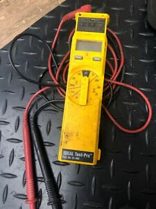 Ideal Test pro Cat No 61 400 Multimeter Tester free Shipping