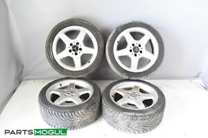 Mercedes W209 Clk500 Clk55 Amg Rims Wheels Set 7 5x17 8 5x17 Staggered W Tires