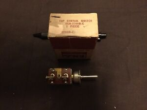 Nos 1955 Ford Sunliner Convertible Power Top Control Switch