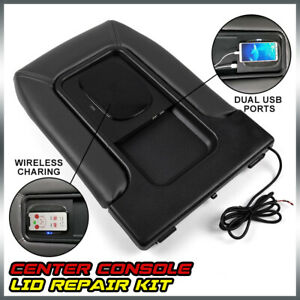 Usb Port Wireless Charger Center Console For 01 07 Chevy Silverado Gmc Chevrolet