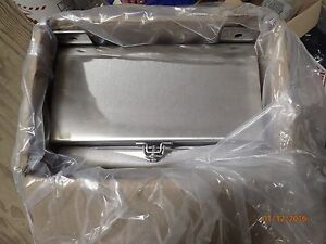 Hoffman A16h1206ss6lp Stainless Steel Electrical Enclosure 16 X 12 X 6 new