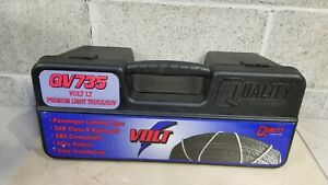 Volt Qv735 Cable Tire Snow Z Chains Pair Light Truck Suv