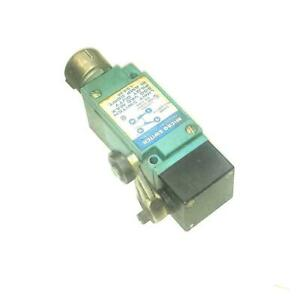 Micro Switch Lsa3k Oil Tight Limit Switch W roller Lever 1 N o 1 N c Contacts