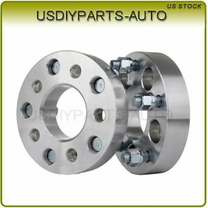2pcs 1 25 Adapter 5x4 5 To 5x5 Wheel Spacers 1 2 Fits 2002 2011 Jeep Liberty