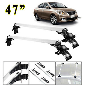 47 Car Top Bar Aluminum Crossbar Rack For Kia Forte Optima Soul 2006 2017
