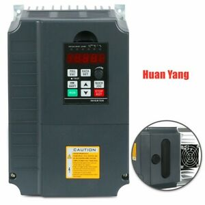 Cnc 7 5kw Vsd 10hp 220v Variable Frequency Drive Inverter Vfd Single To 3 Phase