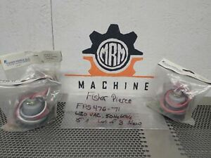 Fisher Pierce Fps476 71 Receptacles 480vac 50hz 60hz 15a New lot Of 3