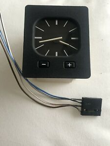 Best Deal 13769036213 Bmw E30 Oem Euro Analog Dashboard Clock Borg 318i 320i 325