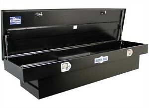 Better Built 73210128 Crown 69 Black Aluminum Crossover Standard Truck Tool Box