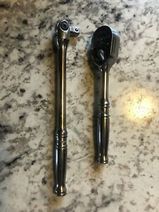 Snap on T936 1 4 Drive Ratchet And Breaker Bar Tm10g