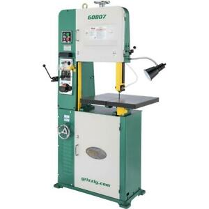 Grizzly G0807 18 2 Hp Variable speed Vertical Metal cutting Bandsaw