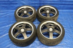 1999 00 Honda Civic Si Racing Hart Evolution Wheels Tire 17x7 40 Offset