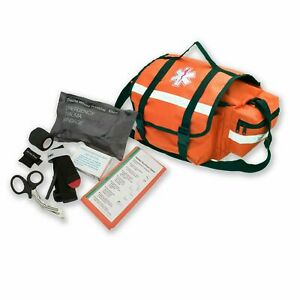 Asatechmed Emergency Response Trauma Bag First Aid Kit Emt First Responder