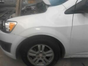 2014 Chevrolet Sonic Driver Left Fender Without Rs Package 849624
