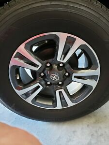 4 Oem 2018 Toyota Tacoma 17 Sport Wheels With Tires