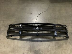 Full Black Grille For 94 98 Chevy C K Pickup Truck Suburban Tahoe No Shipping