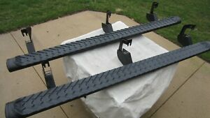 Chevy Tahoe Z71 Midnight Edition Running Boards Side Steps 84155722 84155723