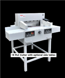 19 2 Stack Paper Cutter At Ebmsales 19plc Electric Industrial 150 00 Monthly