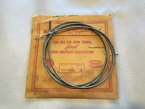 Nos 1939 Dodge Desoto Speedometer Drive Shaft Cable Assembly 1938 39 Chrysler