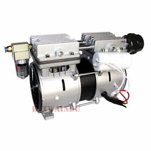 380w Quiet Medical Oilless Vacuum Pump 98kpa 80l m Piston Vacuum Pump 110v