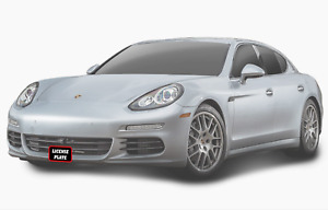 Front Quick Release License Plate Tag Bracket For Porsche Panamera 2017 2020 New