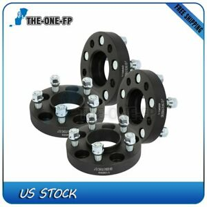 4 Pcs 1 5x4 5 Wheel Spacers 70 5 Mm 1 2 For Ford Mustang Edge Ranger