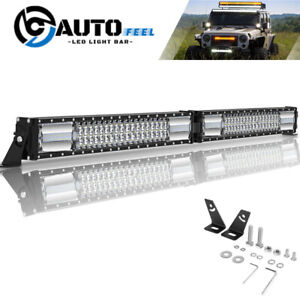 40 Inch 1440w Led Work Light Bar Flood Spot Combo Driving Lights Truck Suv Atv