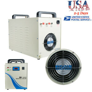 Usa Industrial Water Chiller Cw 3000 For Cnc Laser Engraving Machine Safe Use
