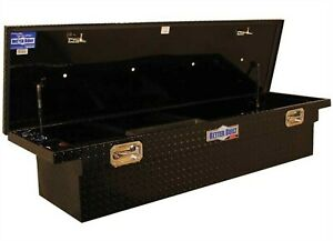 Better Built 79210920 Sec 71 Black Aluminum Crossover Standard Truck Tool Box