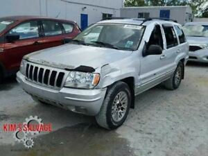 Passenger Front Seat Bucket Lhd Leather Fits 2000 2002 Grand Cherokee 118381
