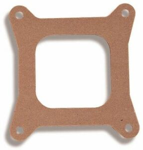 Holley 108 10 Hly Carburetor Base Plate Gasket 4 barrel Open Square Bore