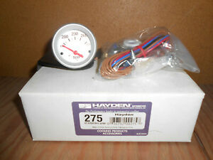 Hayden 275 Transmission engine Oil Temperature Electric Gauge New Free Shipping