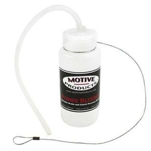 Motive Products Single Power Bleeder Brake Bleeder Catch Bottle 1810