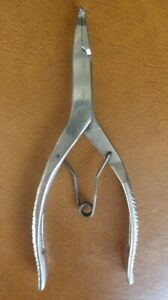 Matco Tools 9 Long Serrated Tip Spring Loaded Handle Snap Ring Pliers P21a