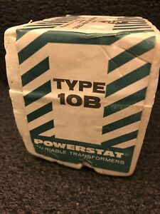 Superior Electric Type 10b Powerstat Variable Transformers New