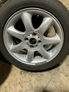 Set Of 4 Mini Cooper Wheels rims 6 5 Jx16eh2 Is 48 rims Only No Tires