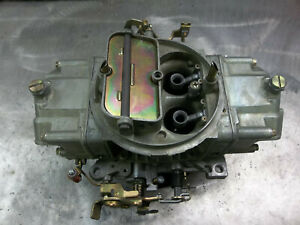 Holley 4150 0 80511 1 Carburetor 830 Cfm Holly Mechanical Secondaries