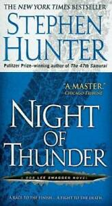 Night of Thunder: A Bob Lee Swagger Novel Mass Market Paperback VERY GOOD $4.05