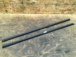 2010 Jeep Liberty Upper Passenger Driver Side Roof Rack Rail Molding Set Oem