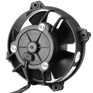 Spal 4 Paddle Blade Low Profile 12v Puller Cooling Fan 30103018