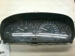 97 00 Plymouth Voyager Speedometer Instrument Cluster Gauge Cluster Red Plug