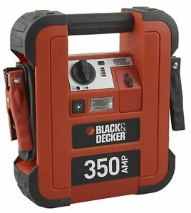 Black And Decker bdjs350 gb Portable Car Battery Jump Starter 12v 350a