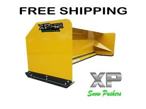 14 Xp42 Loader Snow Pusher Boxes Backhoe Snow Plow Express Steel Free Shipping