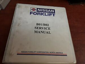 Nissan Forklift Service Manual For B01 b02