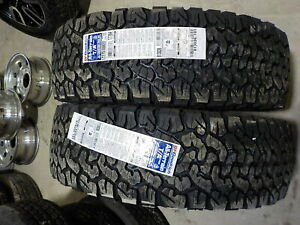 2 New Bf Goodrich All Terrain Ko2 Lt275 65r20 Tires 275 65r20
