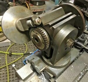 Surface Grinder Tilting Angle Swivel Base Fixture V Block Rotary Dividing Head