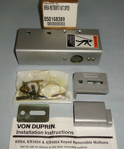 Von Duprin Kr54 Retrofit Kit Sp28 Mullion New